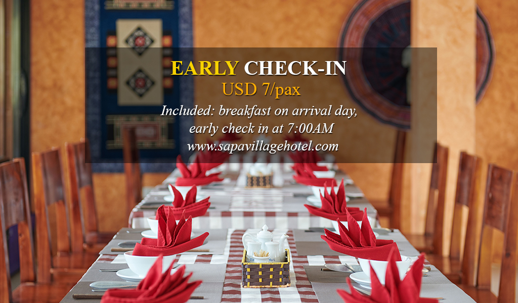 Early Check-in Package